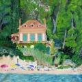 Maison sur la plage de Cavalière